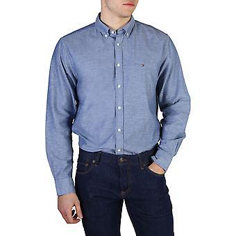 Tommy Hilfiger Original Men All Year Shirt - Blue Color 42075