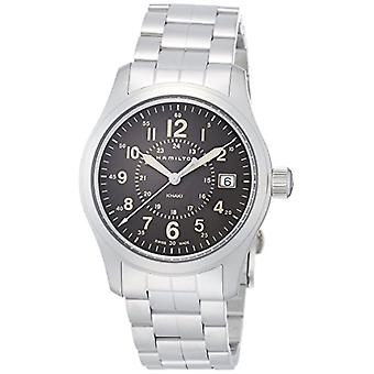 Hamilton Mens Quartz analog watch with stainless steel band H68201193