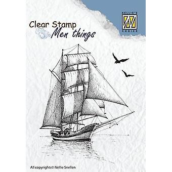 Timbro chiaro per la scelta di Nellie - Barca a vela 2