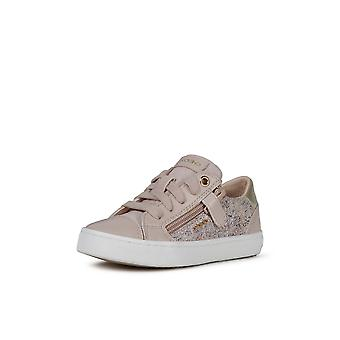 Geox j kilwi rose lace up trainers