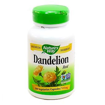 Passant la de la nature racine de pissenlit, 525 mg, capsules, 100 unités