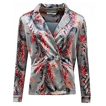 Sofie Schnoor Floral Velvet Blazer