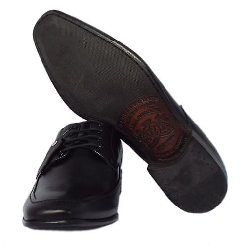 Anatomic&co Salvador Mens Lace-up Shoes In Black Leather