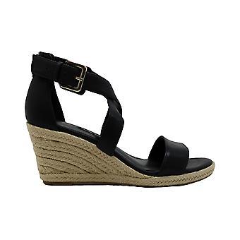Nine West Womens jorgapeach Leather Peep Toe Casual Ankle Strap Sandals