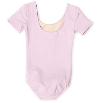 Danskin Little Girls' Short Sleeve Leotard,, Lavender, Size Small (4/6)