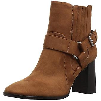 BCBGeneration Womens Agnes Dream Microsuede Suede Square Toe Ankle Fashion Bo...