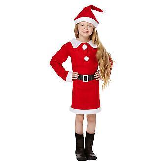 חג המולד חנות נערות שמלה מהודר סנטה