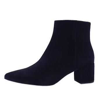 Högl 8-10 4912 Publicity Stylish Ankle Boots In Navy Suede