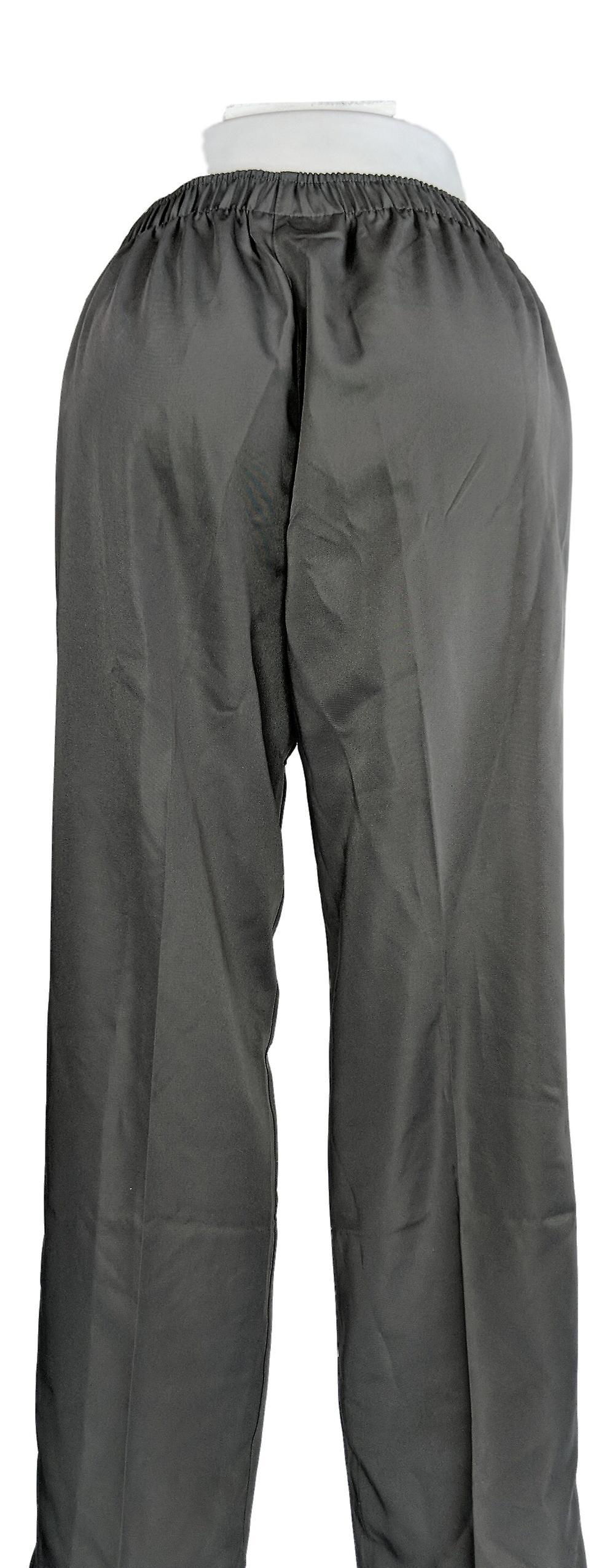 Cathy Daniels Women's Pants Side Pockets Pull-On Gray FJRKau