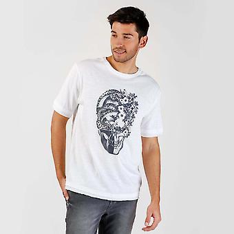 Camiseta de Colagem Branca