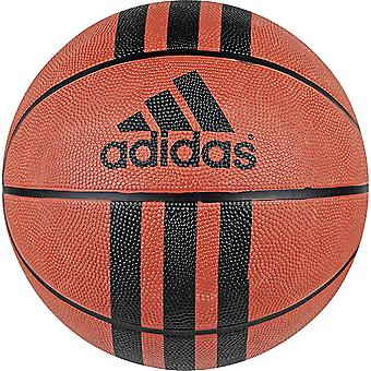adidas 3 Stripe D 29.5 Rubber Outdoor Basketball Ball Tan