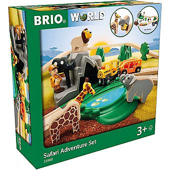 Brio BRIO 33736 Safari Adventure Set.  Wooden Railway