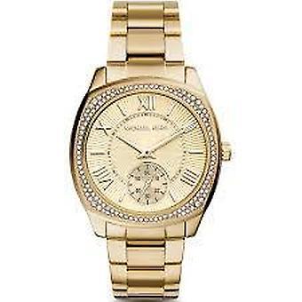 Michael Kors MK6134 Bryn Gold Dial Pozlacené Dámské hodinky