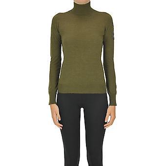 Ermanno Scervino Ezgl078057 Women's Green Acrylic Sweater