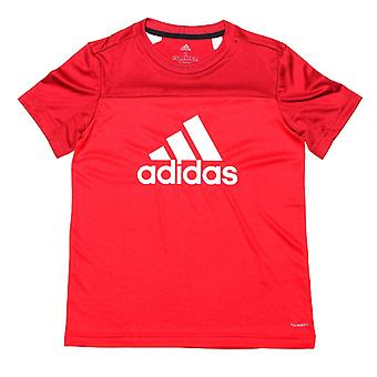 Girl's adidas Infant Equipment Logo T-Shirt in Red