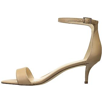 Nine West Womens lesia Fabric Open Toe Ankle Strap Classic Pumps
