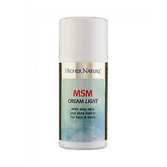 Higher Nature MSM Cream Light 150ml (MCL150)