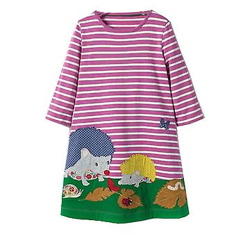 Long Sleeve Dress , Penguin Motif, Infant