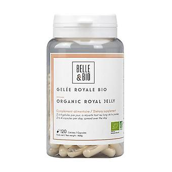 Organic freeze-dried royal jelly 120 vegetable capsules