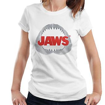 Jaws Teeth Logo Women's T-Shirt