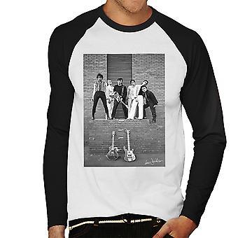 Boomtown Rats Slough Technical College 1977 miesten Baseball pitkähihainen t-paita
