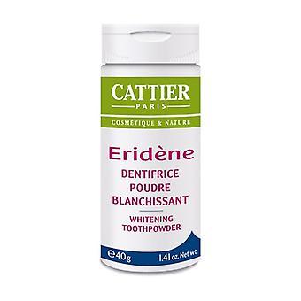 Eridene toothpaste whitening powder 40 g of powder