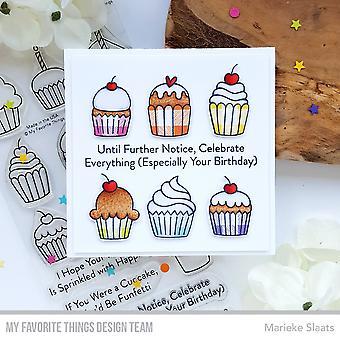 """Suosikki asiat selkeä postimerkit 4 """"X8"""" - Kaikki Cupcakes"""
