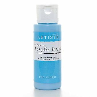 Peinture acrylique Docrafts (2oz) - Pervenche (DOO 763232)