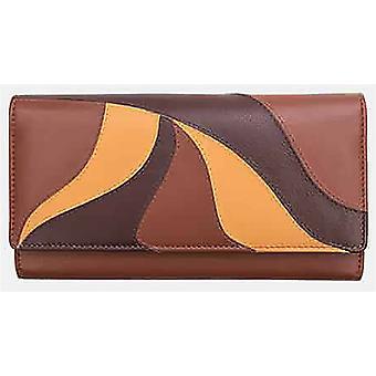 Primehide Womens Large Matinee Leather Wallet RFID Blocking Purse Ladies 6182