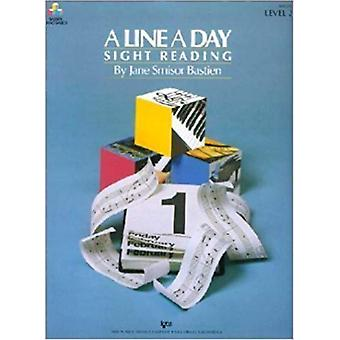 A Line a Day Sight Reading Level 2 by Bastien & Jane