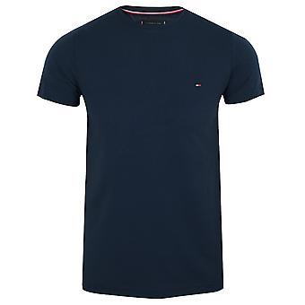 Tommy hilfiger men's navy blazer core stretch t-shirt