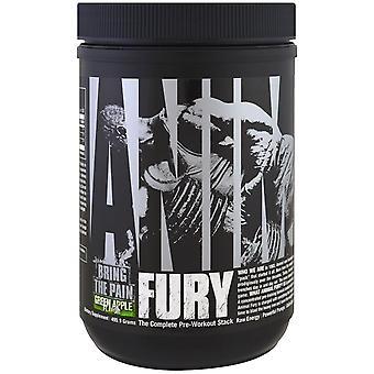 Universal Nutrition, Animal Fury, Green Apple, 495.9 g