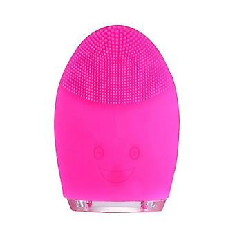 Mini Electric Facial Cleansing, Masaj impermeabil Silicon Perie