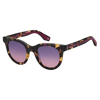 Sunglasses Women's Cat's Eye Pink/Havanna