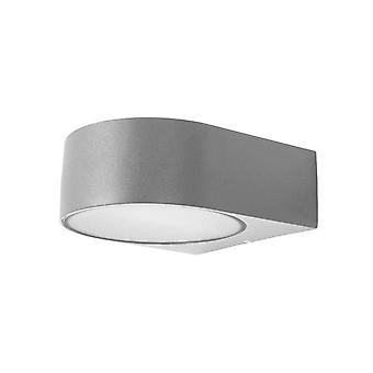 Forlight Mayor - Light Outdoor Wall Light Grey IP44
