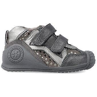 Biomecanics Girls 201113 Ankle Boots Grey Star