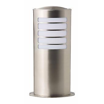 BRILLIANT Lamppu Todd Ulkopohjalamppu 40cm ruostumaton teräs   1x A60, E27, 20W, sopii normaaleille valaisimista (ei sisälly pakkaukseen)  