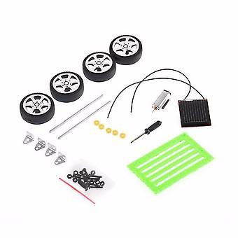 Mini Diy Solar Car Toys, Energy Crazy Solar Powered Kit Scientific Educational