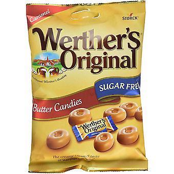 Werthers Original Butter Bonbons Zucker frei, 65g Tasche