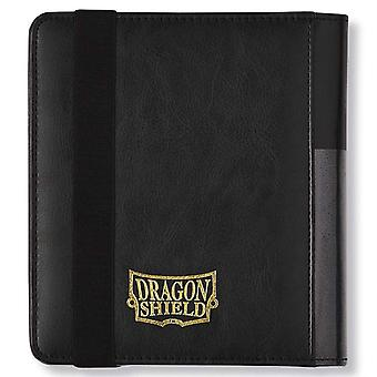 Dragon Shield Card Codex 80 Portfolio - 2/4 Czarny Stabilny
