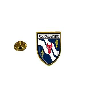 pine pine pine badge pine pin-apos;s souvenir city flag country coat of arms oxfordshire