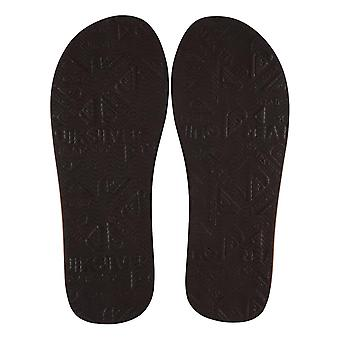 Quiksilver Molokai Nubuck Flip Flops - Tan Solid
