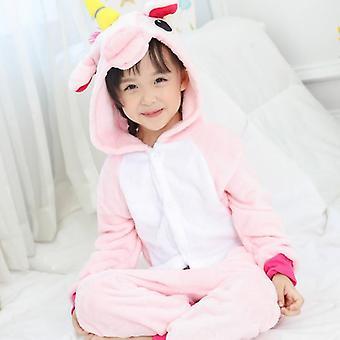 Children Pajamas, Winter Sleepwear, Pajama Unicorn Design Set-2