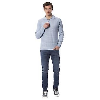 Trussardi Jeans Cristiiano U Heavenly Pure Cotton Polo