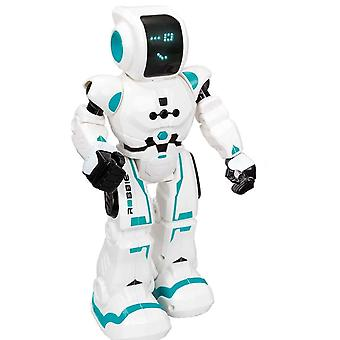 xtrem bots robbie bot interactive toy with smart control and led facial