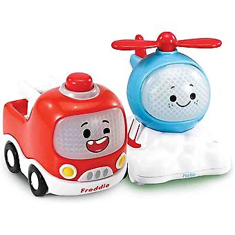 vtech toot-toot cory carson® playzone freddie and halle mini cars