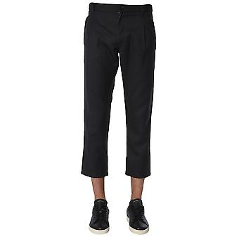 Comme Des Garçons Shirt W269162 Men's Grey Polyester Pants