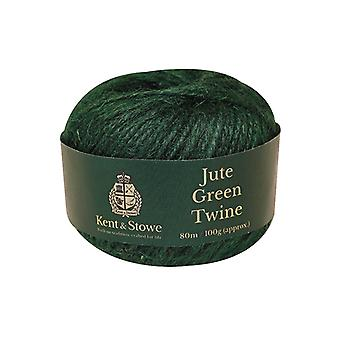 Kent & Stowe Jute Twine Green 80m (100g) K/S70100800