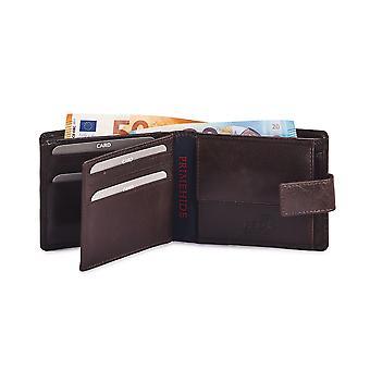 Primehide Premium miesten nahka lompakko RFID estää gents kortinhaltija 5400