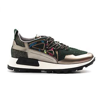 Barracuda E-motion Sneakers în lână verde